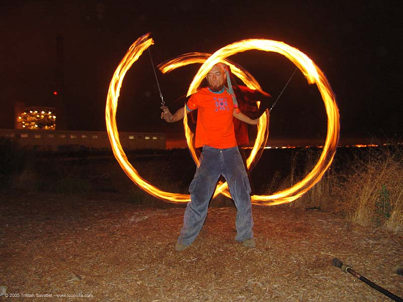 alex spinning fire poi (san francisco), circle, fire dancer, fire dancing, fire performer, fire poi, fire spinning, night, ring, shanti alex, spinning fire