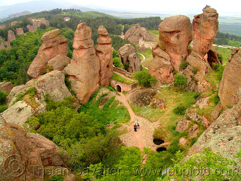 belogradchik - red rock formations (bulgaria), belogradchik, cliffs, erosion, mushroom rocks, red rocks, rock formations, rock walls, българия