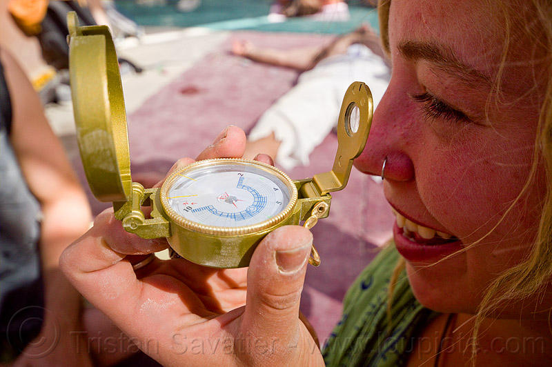 black rock city compass - burning man 2012, hand, holding, people, woman