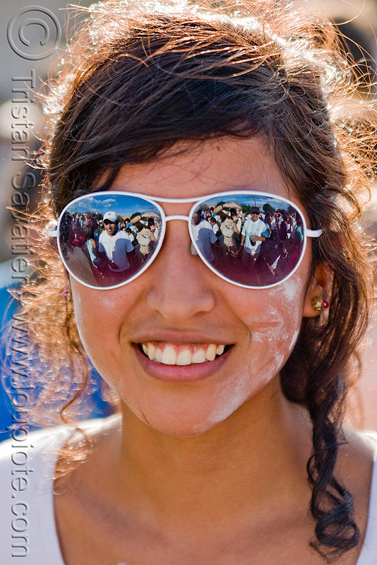 carnaval - carnival in jujuy capital (argentina), andean carnival, mirror sunglasses, noroeste argentino, people, san salvador de jujuy, woman