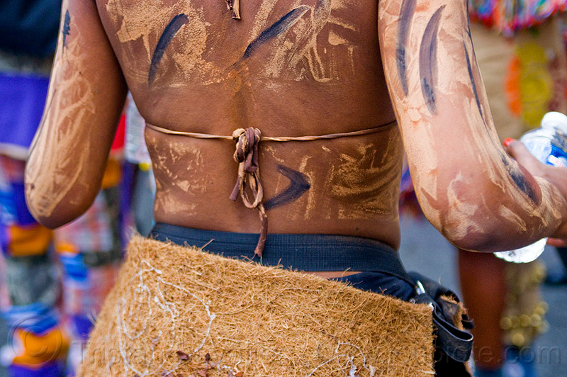 choukaj at the carnaval tropical de paris, caribbean, carnaval tropical, choukaj, costumes, creole, cr�\xa9ole, guadeloupe, indigenous culture, parade, paris, traditional, tribal, west indies, woman