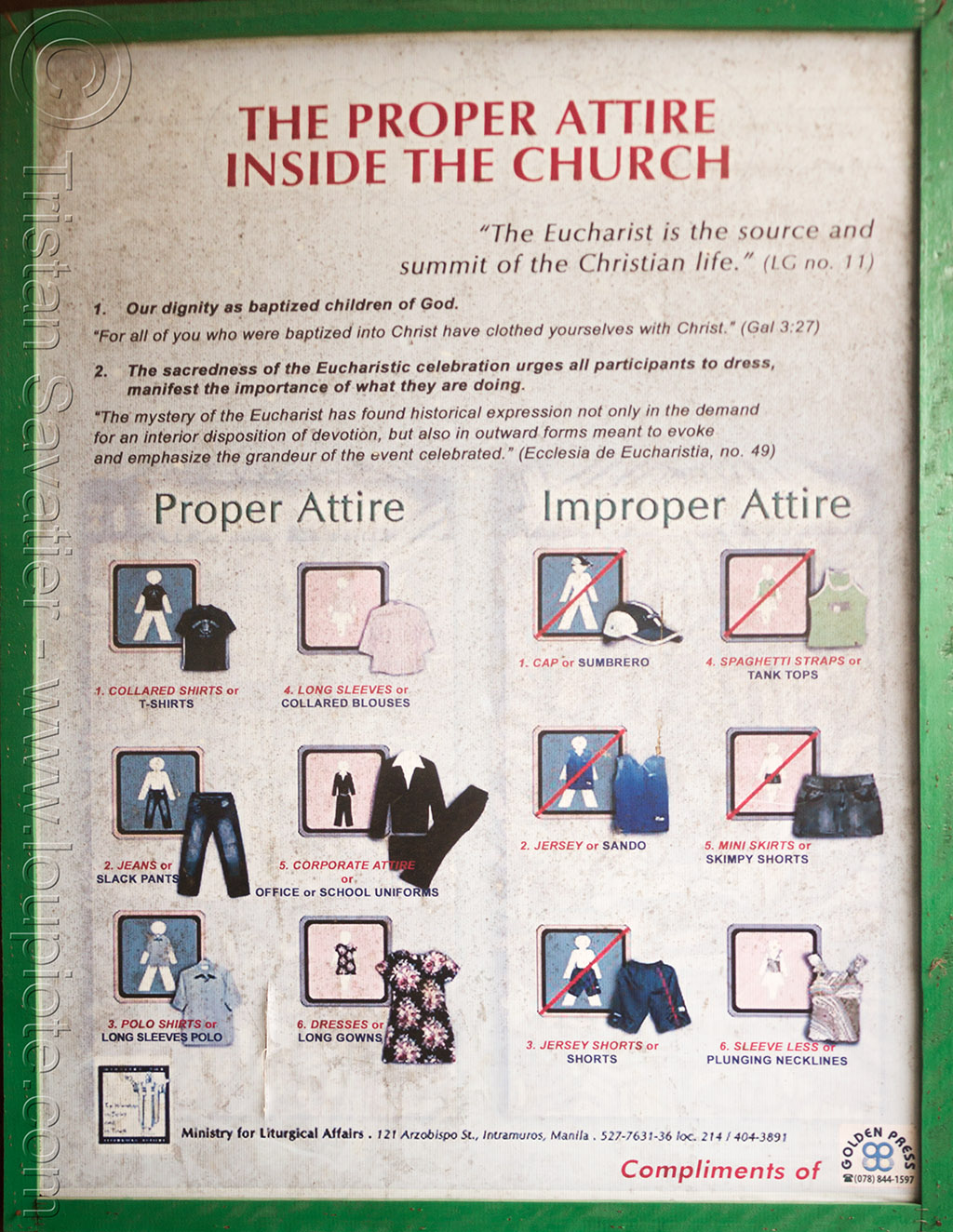 church dress code (philippines), church, dresscode, philippines, sign, tuguegarao