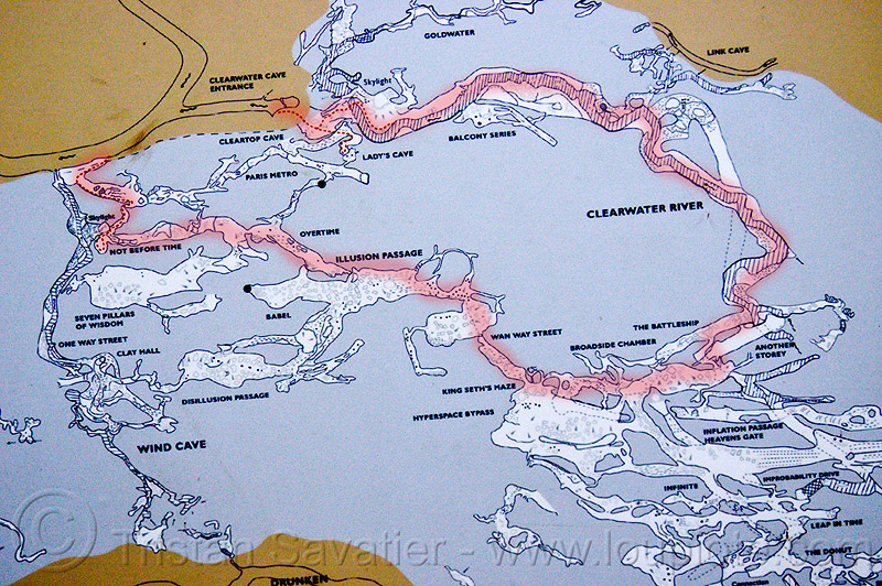 clearwater connection cave map - caving in mulu (borneo), borneo, cave map, caving, clearwater cave system, clearwater connection, gunung mulu national park, malaysia, natural cave, spelunking