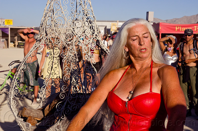 crimson - burning man 2012, burning man, crimson rose