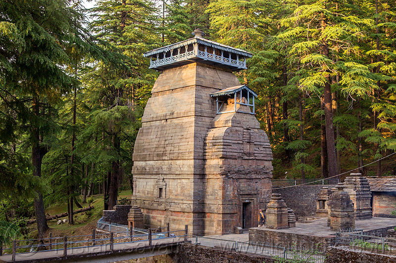 dandeshwar temple near jageshwar (india), dandeshwar, hindu temple, hinduism, india, jageshwar