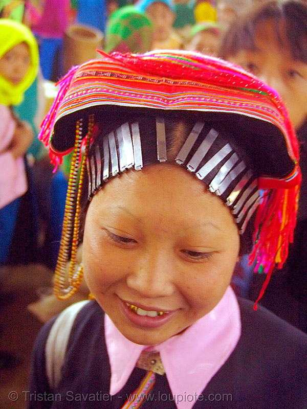 dao tribe woman - vietnam, asian woman, colorful, dao, dzao tribe, gold teeth, hill tribes, indigenous, mèo vạc, vietnam, yao tribe