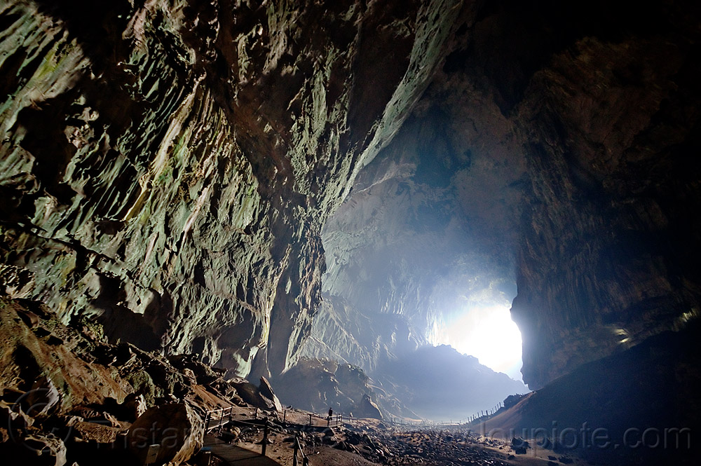 deer cave - gunung mulu national park (borneo), backlight, borneo, caving, deer cave, gunung mulu national park, malaysia, natural cave, spelunking