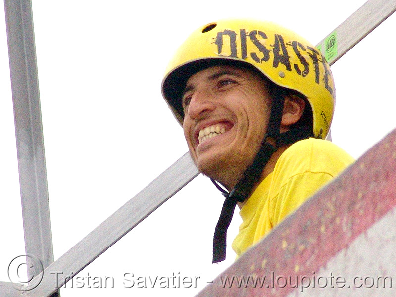 disaster-man - yellow helmet (bulgaria), people, skateboarding helmet, българия