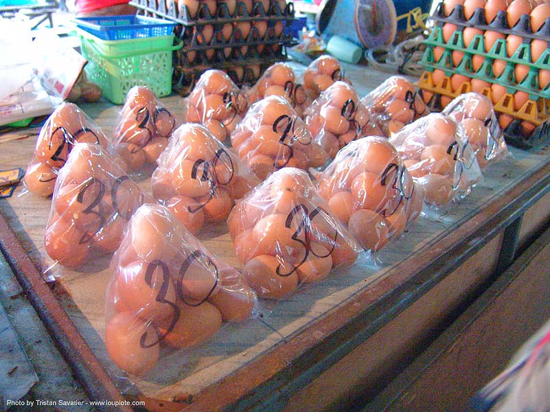 eggs on the market - thailand, eggs, market, ประเทศไทย