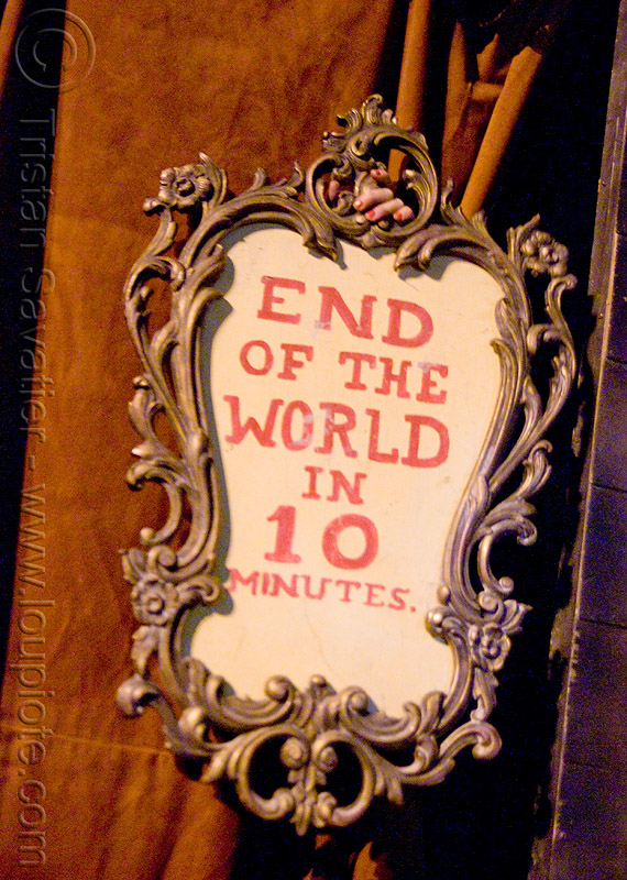 end of the world - dia de los muertos - halloween (san francisco), day of the dead, dia de los muertos, frame, halloween, night, sign