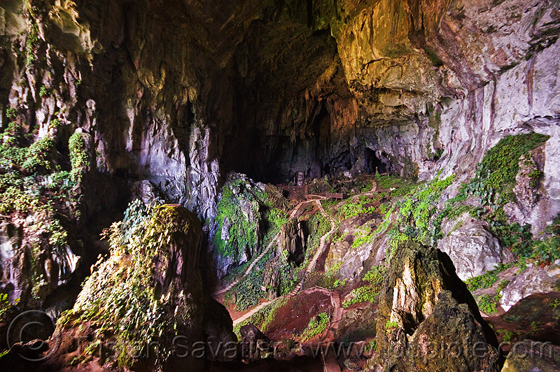 fairy cave near kuching (borneo), bau, caving, natural cave, spelunking