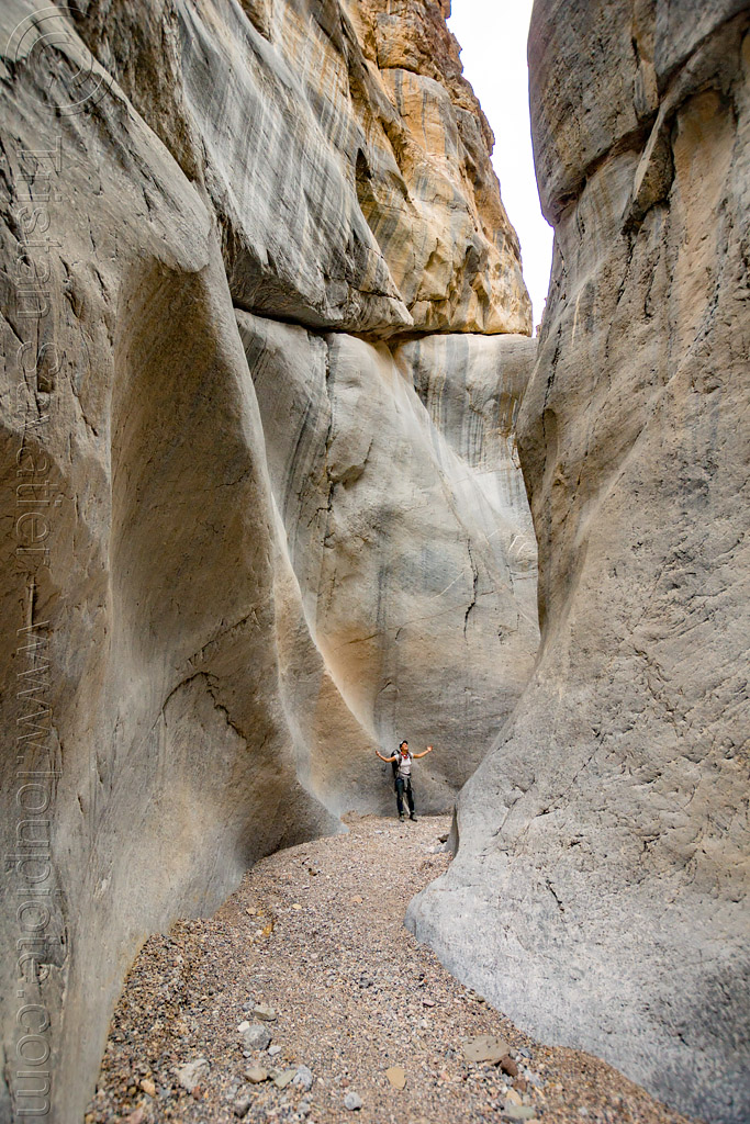 fall canyon - marble walls in the narrows - death valley national park (california), death valley, fall canyon, hiking, marble rock, narrows