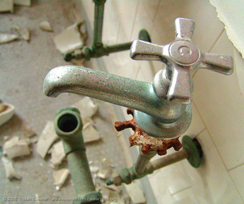faucet, abandoned building, abandoned hospital, bathroom, decay, faucet, presidio hospital, presidio landmark apartments, sinks, toilet, trespassing, urban exploration, vandalism, vandalized
