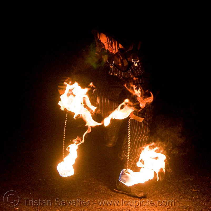 fire dancer (san francisco), fire dancer, fire dancing, fire performer, fire poi, fire spinning, flames, night, spinning fire