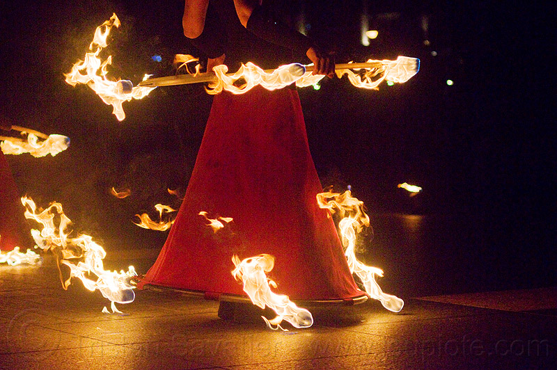 fire hoop dress, fire dancer, fire dancing expo, fire dress, fire hoop dress, fire hula hoop, fire performer, fire spinning, night, spinning fire, temple of poi