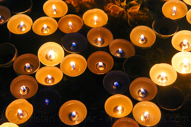 floating candles, altar de muertos, burning, day of the dead, dia de los muertos, flames, halloween, many, night