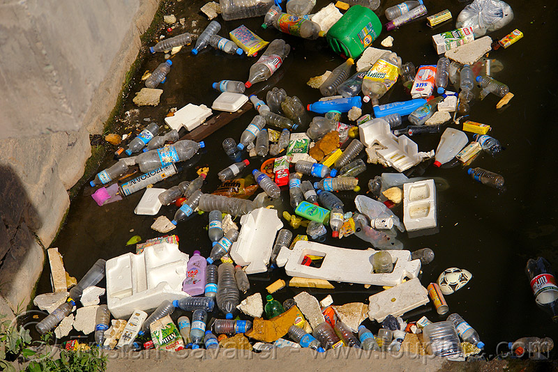 floating plastic trash, canal, dump, environment, floating, garbage, plastic trash, pollution, rubbish, trabzon, water