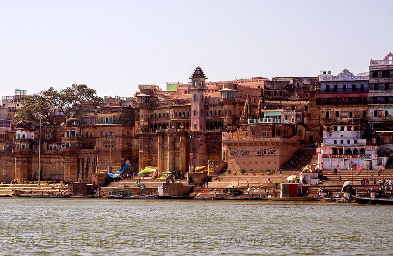 ghats of varanasi (india), ganga river, ganges river, ghats, hindu, hinduism, varanasi, water
