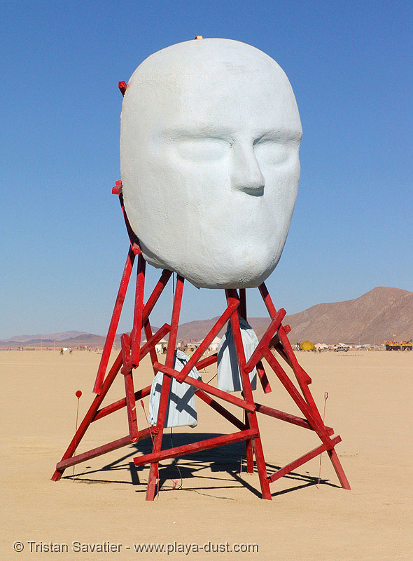 headspace by michael matteo - burning-man 2005, art installation, burning man, headspace, michael matteo