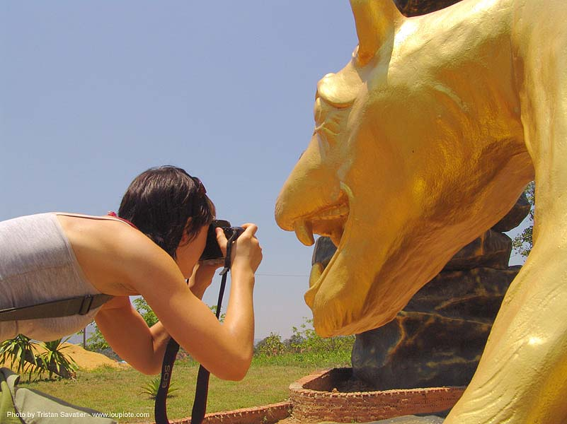 hindu park near phu ruea, west of loei (thailand), anke rega, golden, golden color, hinduism, people, woman, ประเทศไทย