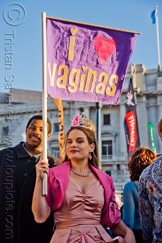 I love vaginas, i love vaginas, lovevolution, sign, woman