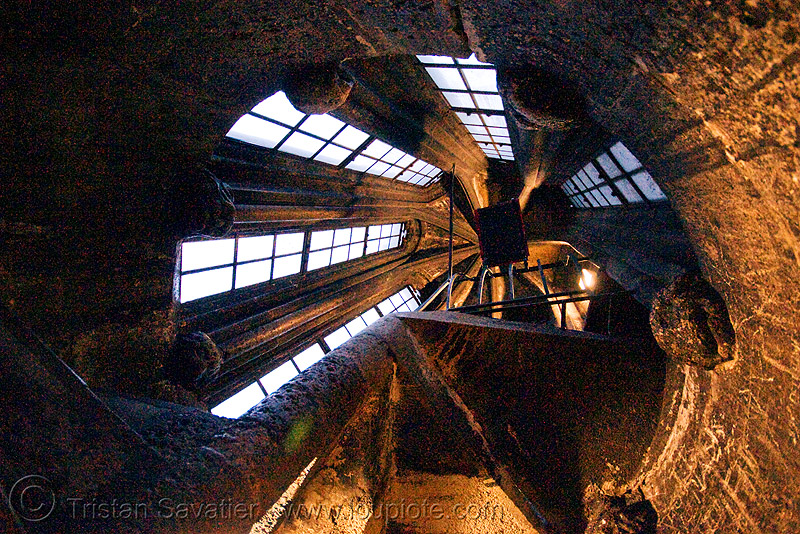 inside the cathedral tower - stephansdom - st stephen cathedral (vienna), bell tower, campanil, church tower, circular stairs, inside, interior, spiral stairs, st stephen cathedral, stephansdom, vienna, wien, windows