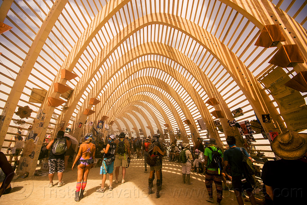 inside the temple of promise - burning man 2015, architecture, burning man, interior, temple of promise