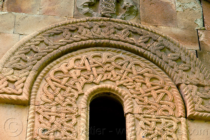 Işhan monastery - georgian church ruin (turkey), architecture, byzantine, byzantine architecture, carving, decoration, detail, geometric, ishan, ishan monastery, işhan, işhan church, low-relief, motives, orthodox, orthodox christian, religion, ruins, stone, window