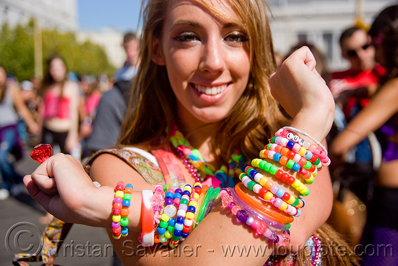 kandi kid - love fest (san francisco), beads, bracelets, clothing, fashion, kandi cuffs, kandi kid, kandi raver, lovevolution, woman