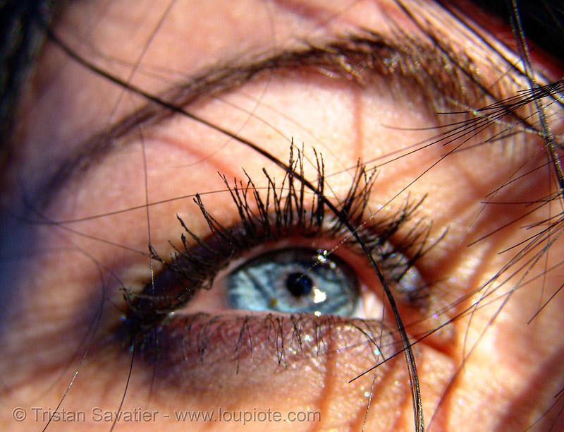keri's blue eye, blue eyes, blueeye, close up, eye color, eyelashes, iris, keri, macro, mascara, pupil, right eye, woman