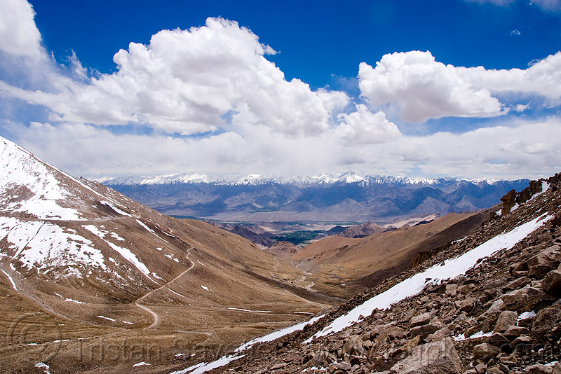 khardungla pass - ladakh (india), khardung, khardung la, khardung la pass, mountain pass, mountains, snow