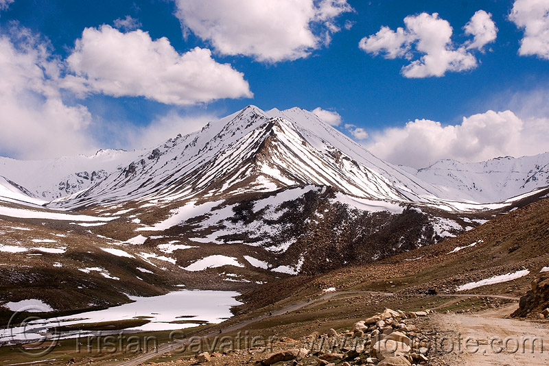 khardungla pass - ladakh (india), khardung la pass, ladakh, mountain pass, mountains, snow