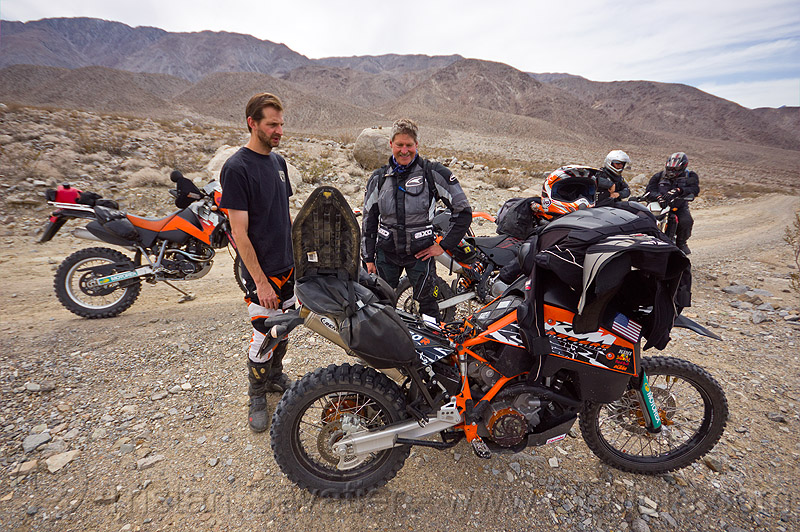 KTM motorcycle rally, adv rider, adventure rider, death valley, dual-sport, motorbike, motorbike touring, motorcycle touring, noobs rally, people, saline valley