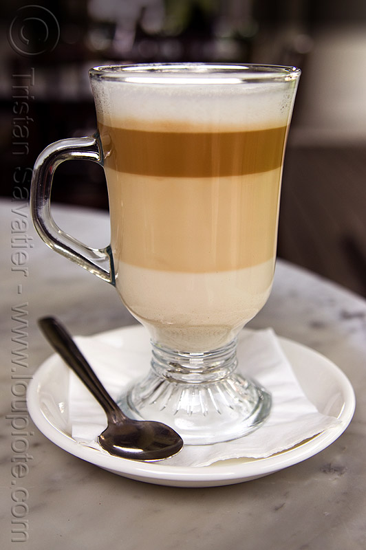 layered cafe latte, caffe, caffe latte, caffè, caffè latte, coffee, coffee cup, density, drink, kuching, layered drink, layered latte, layers, liquid, spoon