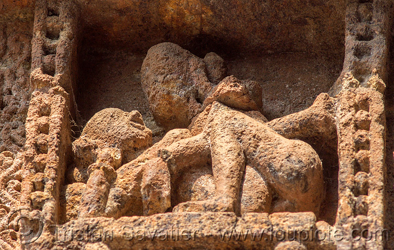 maithuna - erotic sculpture at the konark sun temple (india), erotic sculptures, high-relief, hindu temple, hinduism, india, konark sun temple, maithuna