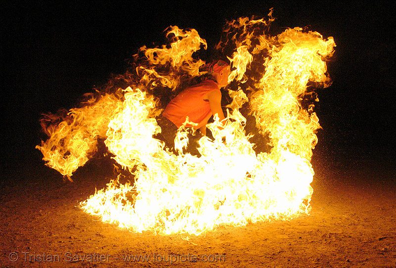 man in fire, burning, death, death by fire, fire dancer, fire dancing, fire performer, fire spinning, flames, immolation, man burning, night, people, shanti alex, spinning fire