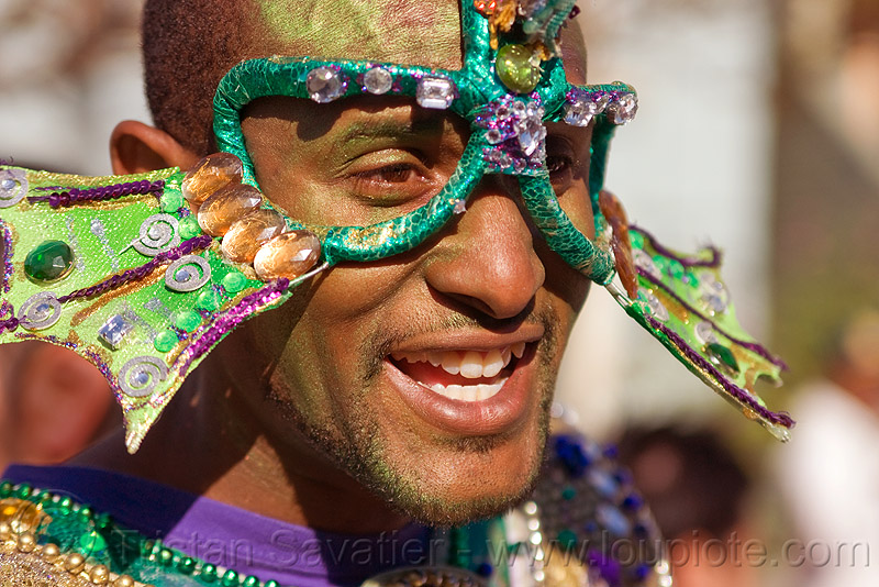 man with sea creature samba mask, african american man, black man, carnival costume, carnival mask, joseph, samba costume, samba dancer, samba funk, sea creature, underwater creature