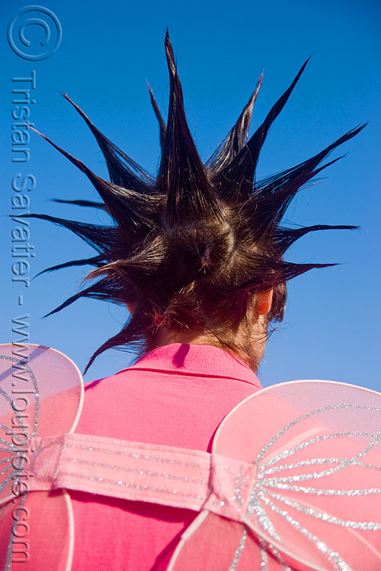 spiky hair, festival, love fest, lovevolution, people, spikes
