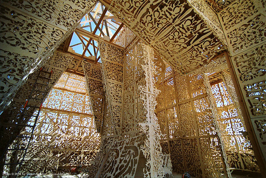 mausoleum - burning-man, art, art installation, burning man