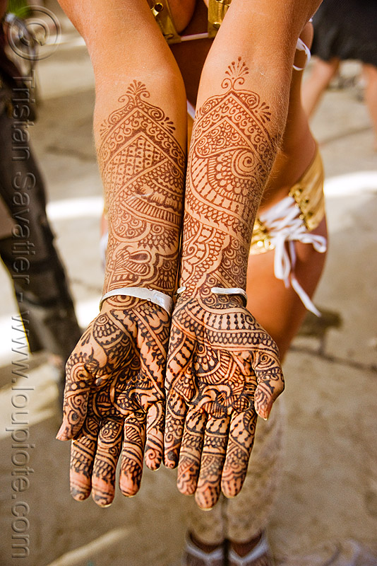 mehndi - henna tattoo, body art, burning man, hand palms, hands, henna tattoo, mehndi designs, temporary tattoo, woman