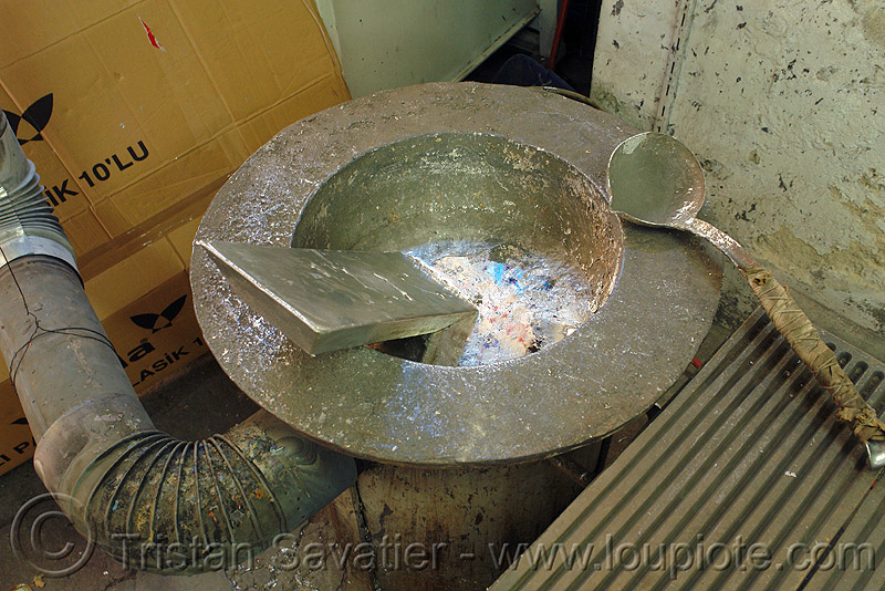 melting metal in crucible, cast, crucible, foundry, istanbul, melted, melting, molten metal, solder, tin alloy