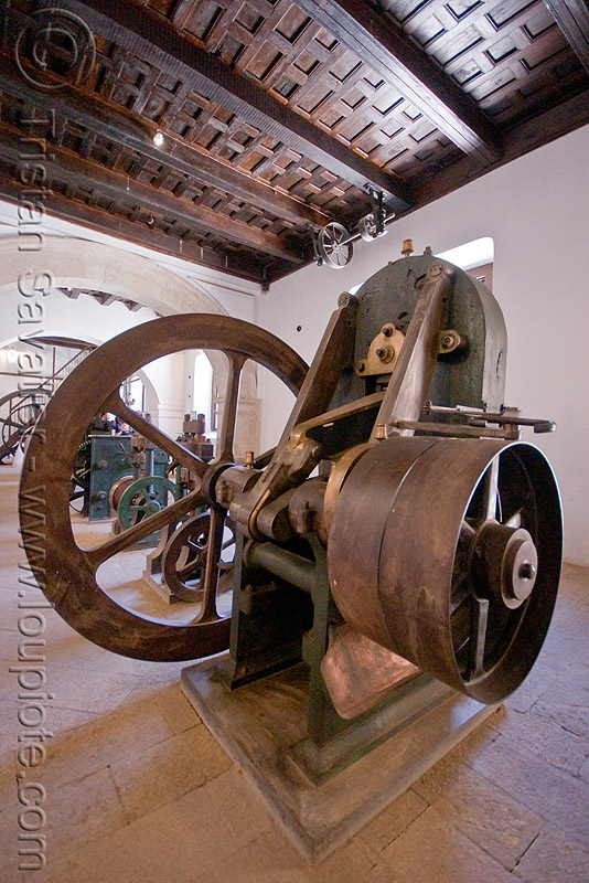 minting - coining machine, casa de la moneda, casa nacional de moneda, machine tool, mint, minting, potosí, steam powered