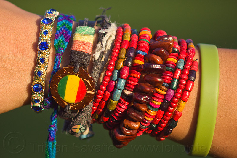 friendship bracelets, alexis, arm, close-up, friendship bands, friendship bracelets, girl, hippie bracelets, jewelry, many, rubber band, rubber bracelet, seeds, woman, wooden beads, wrist, youth fashion