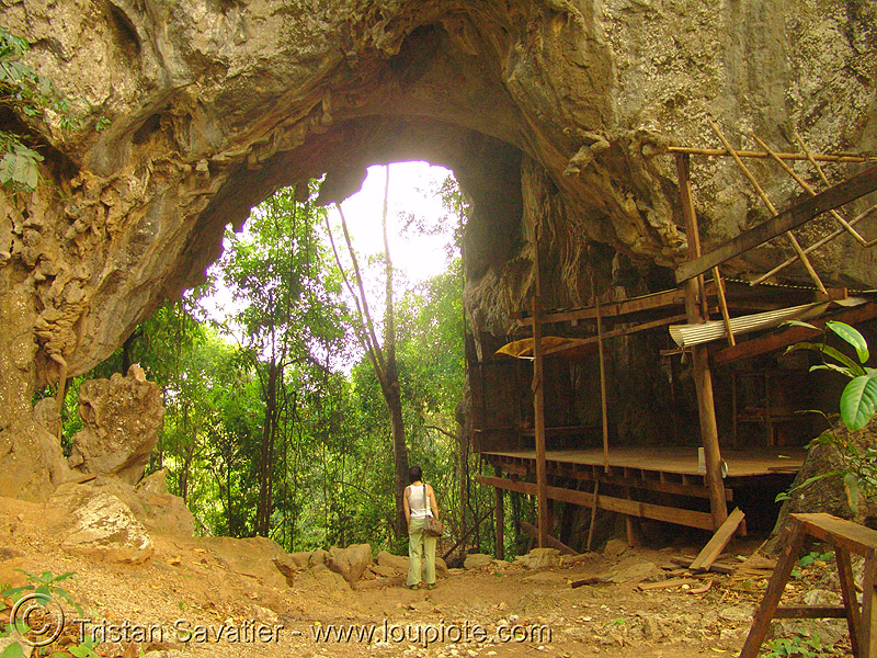 natural bridge - thailand, arch, cave, caving, karstic, natural arch, natural cave, spelunking, temple, wat, ประเทศไทย