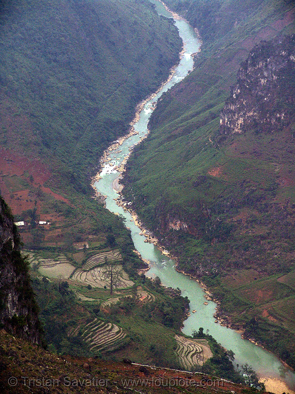 the nho quế river - vietnam, nho que river, nho quế river, valley