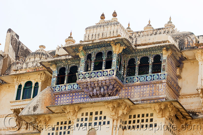 palace (detail) - udaipur (india), palace, udaipur