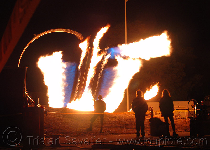 pendulum of fire, burning, fire art, fire arts festival, flames, long exposure, pendulum of fire, pyrokinetics, the crucible