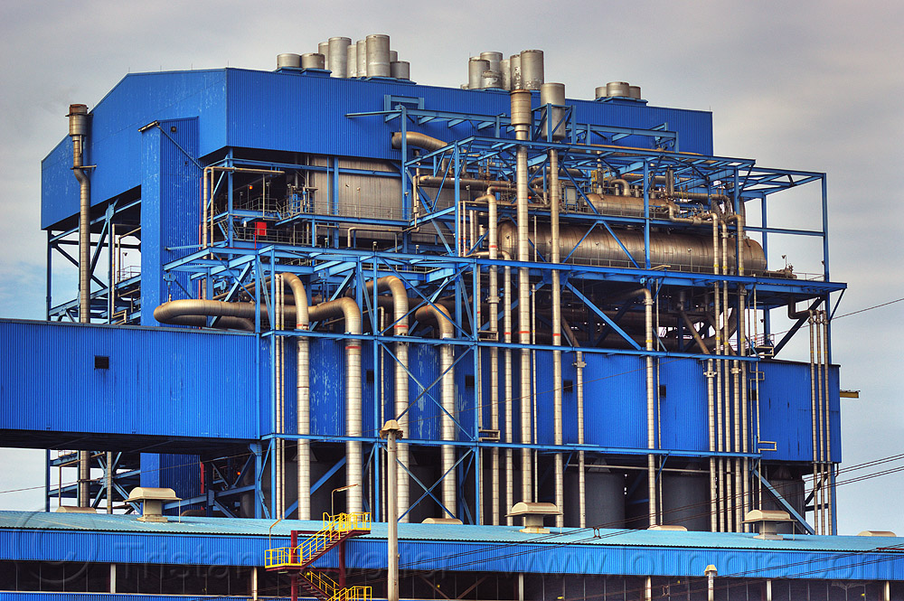 power plant - paiton complex (indonesia), coal fired, electricity, energy, factory, indonesia, paiton complex, pipes, power generation, power station