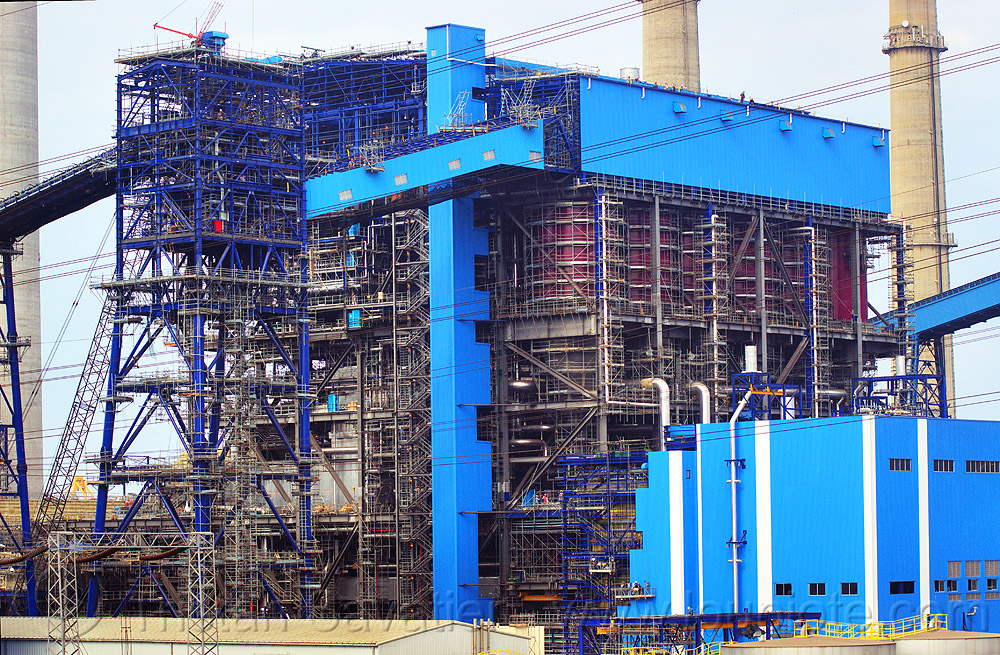 power plant - paiton complex (java), coal fired, electricity, energy, factory, industrial, power generation, power station