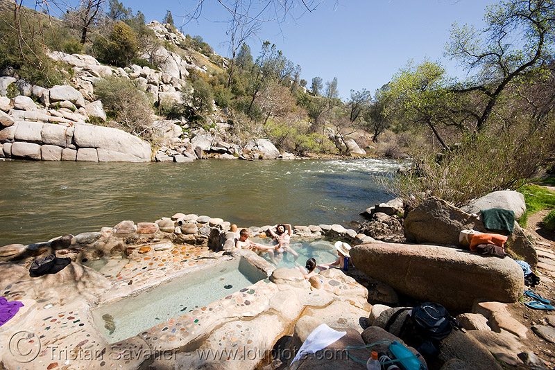 remington hot springs, bathing, kern river, pools, primitive, remington hot springs, water